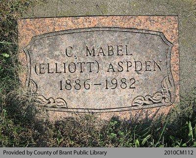 C. Mabel Elliott Aspden