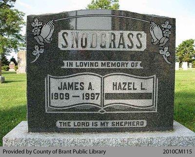 Snodgrass Family Headstone