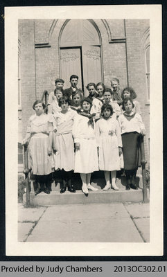 Onondaga School No. 5 Graduating Class [ca. 1925-1927]