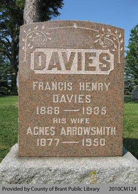 Davies Family Headstone
