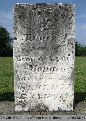 James A. Monger