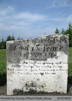 White Cemetery Headstone 1-27