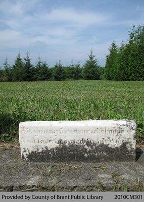 White Cemetery Headstone 1-31