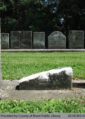Oakland Pioneer Cemetery Headstone 1-10