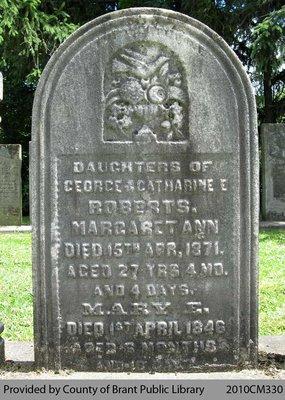 Roberts Family Headstone