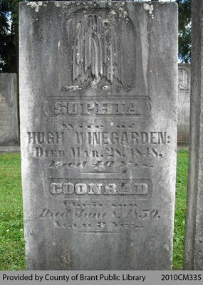 Winegarden Family Headstone
