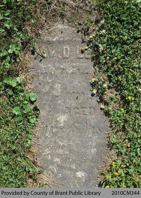 Oakland Pioneer Cemetery Headstone 1-40
