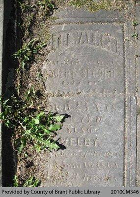 Secord Family Headstone