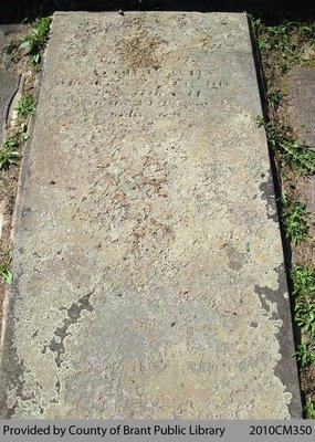 Oakland Pioneer Cemetery Headstone 1-46