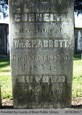 Abbott Family Headstone
