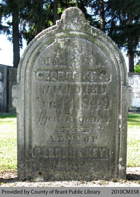 Key Family Headstone