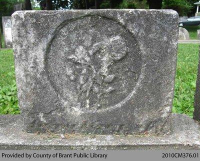 Oakland Pioneer Cemetery Headstone 1-72