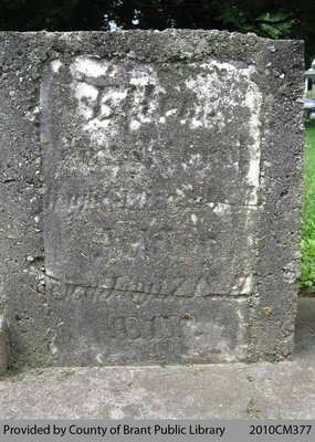 Oakland Pioneer Cemetery Headstone 1-73