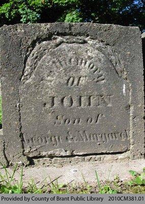Oakland Pioneer Cemetery Headstone 1-77