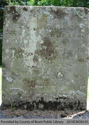 Oakland Pioneer Cemetery Headstone 2-11
