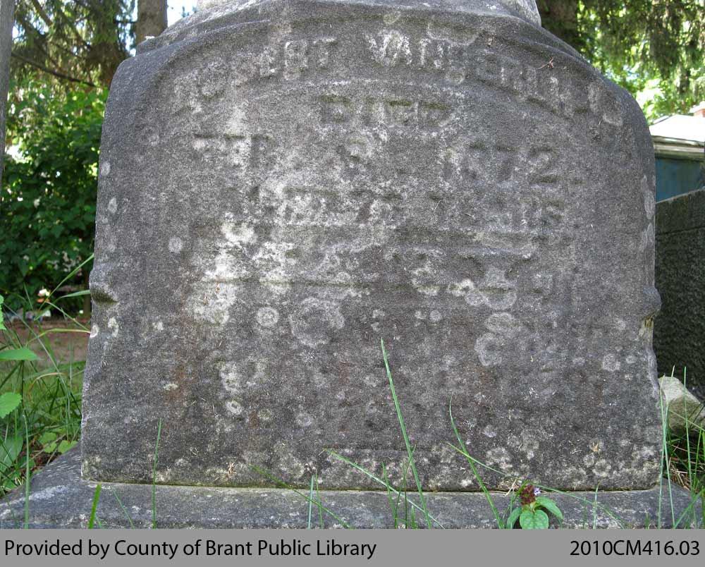 Vanderlip Family Headstone