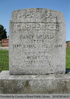 Carpenter Family Headstone