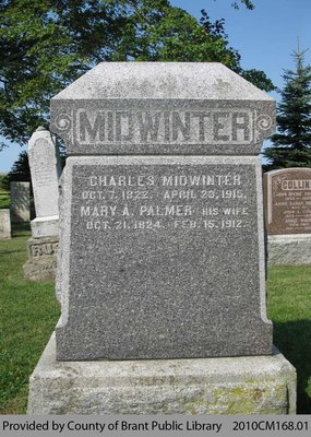 Midwinter Family Headstone