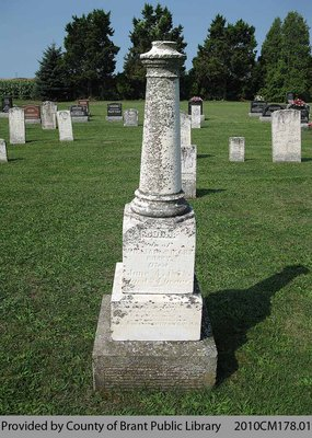 Gimby Family Headstone