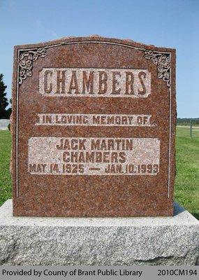 Jack Martin Chambers