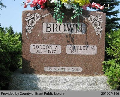 Brown Family Headstone