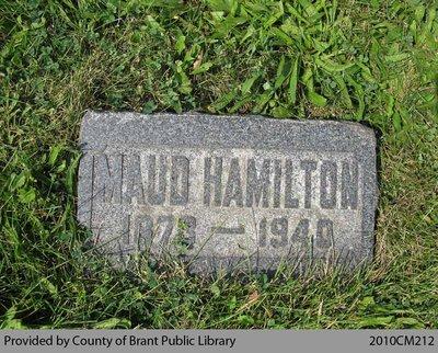 Maud Hamilton