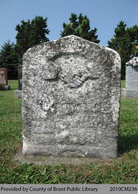 Fairfield Cemetery Headstone 16-7