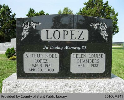 Lopez Family Headstone