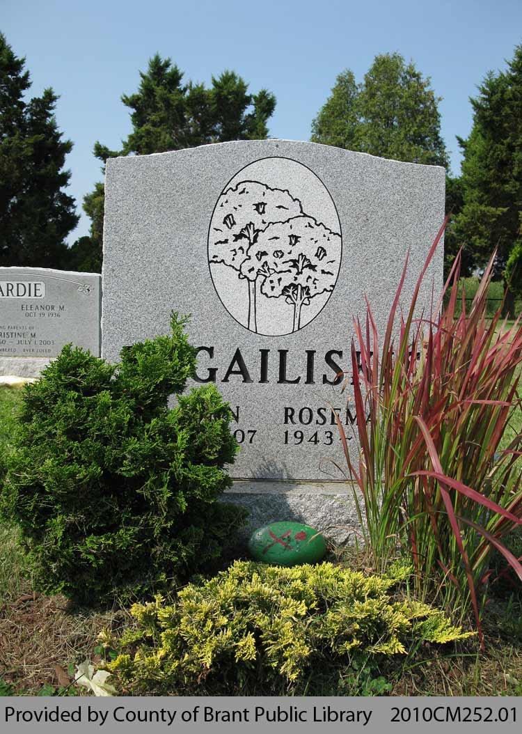 Bugailiskis Family Headstone