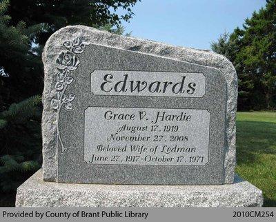 Edwards Family Headstone