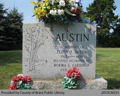 Austin Family Headstone