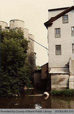 Back of Smith Mills