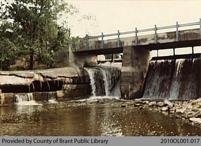 Waterfalls at Smith Mills