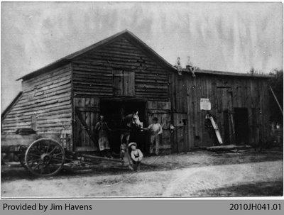Barney Sweeny's Blacksmith Shop