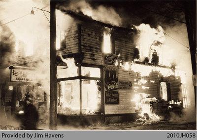 King's Bakery Fire