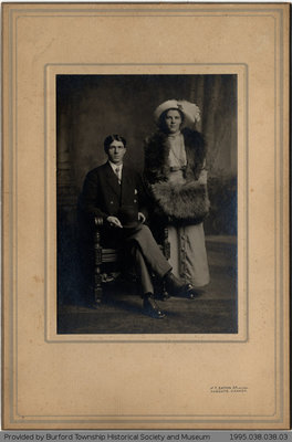 Wedding Photos of Sam Deveney and Mildred Edmonds