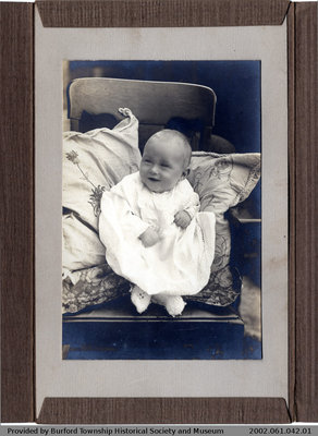 Baby Photo of Stanley Balkwill
