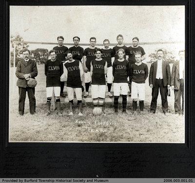 Kelvin Football Team