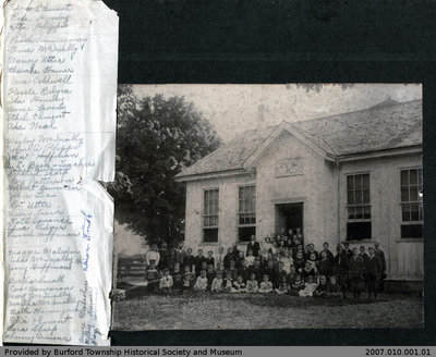 Northfield Center School S.S. No. 16 Class Photo