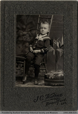 Photograph of Unknown Child