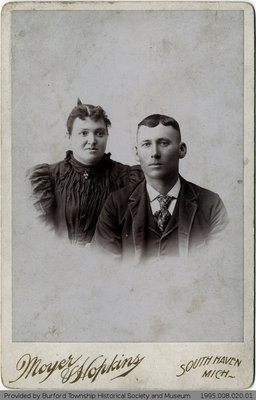 Byron Wooden's Daughter and Her Husband