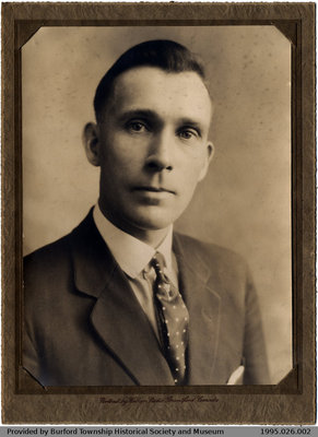 Photograph of Unknown Man