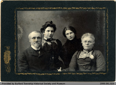 Portrait Photo of a Family