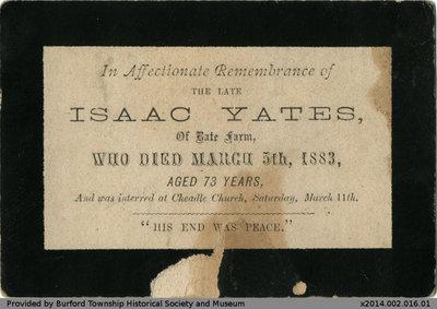 Isaac Yates