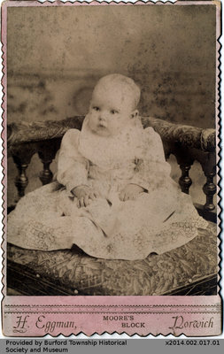 Mildred Edmonds at Eight Months
