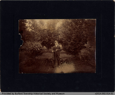 G. H. Shellington Out Hunting