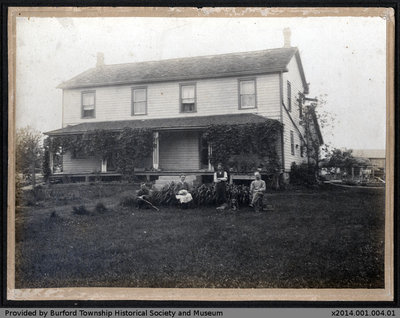 Home of Henry Shellington and Family