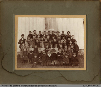 Northfield S.S. No. 16 Class Photo