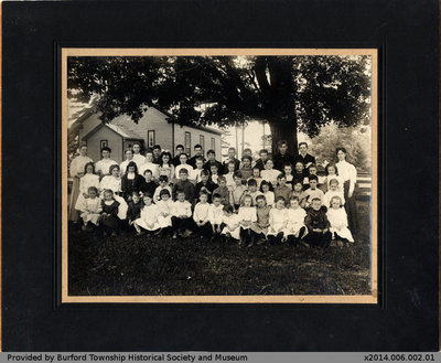 Cathcart S.S. No. 24 Class Photo