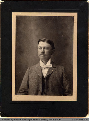 Photo of an Unidentified Man